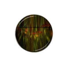 Fractal Rain Hat Clip Ball Marker by Simbadda