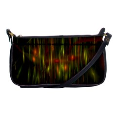 Fractal Rain Shoulder Clutch Bags by Simbadda