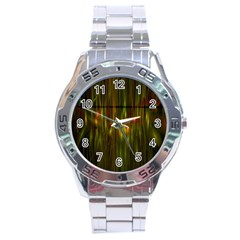 Fractal Rain Stainless Steel Analogue Watch by Simbadda