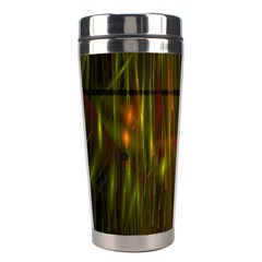 Fractal Rain Stainless Steel Travel Tumblers by Simbadda