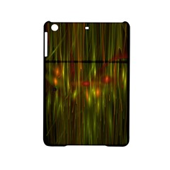 Fractal Rain Ipad Mini 2 Hardshell Cases by Simbadda