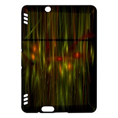 Fractal Rain Kindle Fire Hdx Hardshell Case by Simbadda