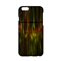 Fractal Rain Apple Iphone 6/6s Hardshell Case by Simbadda
