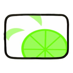 Fruit Lime Green Netbook Case (medium)  by Alisyart
