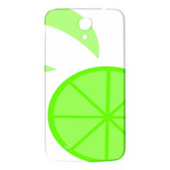 Fruit Lime Green Samsung Galaxy Mega I9200 Hardshell Back Case by Alisyart