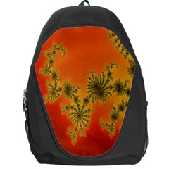 Decorative Fractal Spiral Backpack Bag by Simbadda