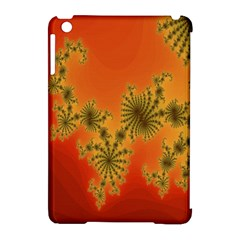 Decorative Fractal Spiral Apple Ipad Mini Hardshell Case (compatible With Smart Cover) by Simbadda