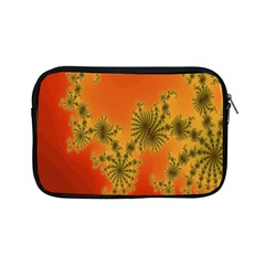 Decorative Fractal Spiral Apple Ipad Mini Zipper Cases by Simbadda