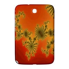Decorative Fractal Spiral Samsung Galaxy Note 8 0 N5100 Hardshell Case  by Simbadda