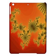 Decorative Fractal Spiral Ipad Air Hardshell Cases by Simbadda
