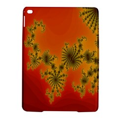 Decorative Fractal Spiral Ipad Air 2 Hardshell Cases by Simbadda