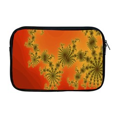 Decorative Fractal Spiral Apple Macbook Pro 17  Zipper Case by Simbadda