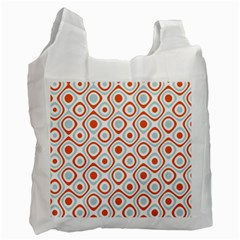 Pattern Background Abstract Recycle Bag (two Side)  by Simbadda