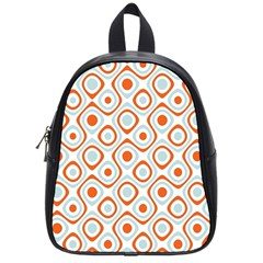 Pattern Background Abstract School Bags (small)  by Simbadda