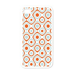 Pattern Background Abstract Apple Iphone 4 Case (white) by Simbadda
