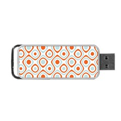 Pattern Background Abstract Portable Usb Flash (two Sides) by Simbadda