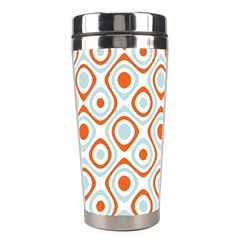 Pattern Background Abstract Stainless Steel Travel Tumblers by Simbadda