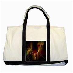 Fractal Image Two Tone Tote Bag by Simbadda