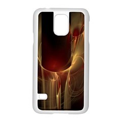 Fractal Image Samsung Galaxy S5 Case (white) by Simbadda