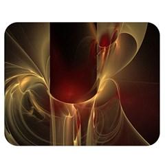 Fractal Image Double Sided Flano Blanket (medium)  by Simbadda
