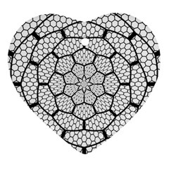 Grillage Ornament (heart) by Simbadda