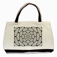 Grillage Basic Tote Bag by Simbadda