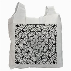 Grillage Recycle Bag (one Side) by Simbadda