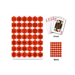 Icon Library Web Icons Internet Social Networks Playing Cards (mini)  by Simbadda