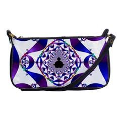 Ring Segments Shoulder Clutch Bags by Simbadda