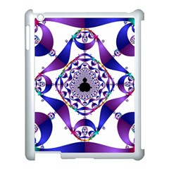 Ring Segments Apple Ipad 3/4 Case (white) by Simbadda