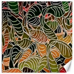Floral Pattern Background Canvas 20  X 20   by Simbadda