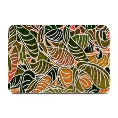Floral Pattern Background Plate Mats by Simbadda