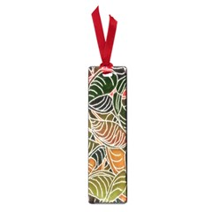 Floral Pattern Background Small Book Marks by Simbadda