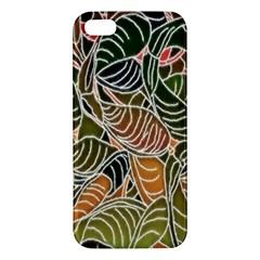 Floral Pattern Background Iphone 5s/ Se Premium Hardshell Case by Simbadda