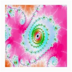 Decorative Fractal Spiral Medium Glasses Cloth by Simbadda