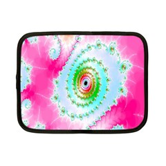 Decorative Fractal Spiral Netbook Case (small)