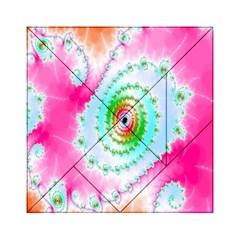 Decorative Fractal Spiral Acrylic Tangram Puzzle (6  X 6 ) by Simbadda