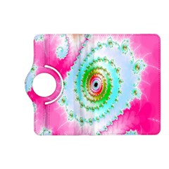 Decorative Fractal Spiral Kindle Fire Hd (2013) Flip 360 Case by Simbadda