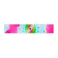 Decorative Fractal Spiral Flano Scarf (mini) by Simbadda