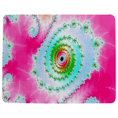 Decorative Fractal Spiral Jigsaw Puzzle Photo Stand (rectangular) by Simbadda