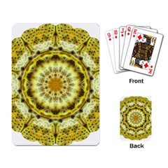 Fractal Flower Playing Card by Simbadda