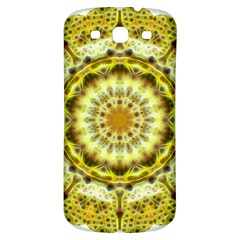 Fractal Flower Samsung Galaxy S3 S Iii Classic Hardshell Back Case by Simbadda