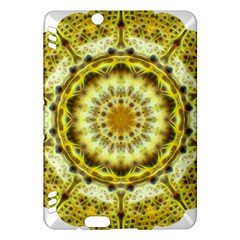 Fractal Flower Kindle Fire Hdx Hardshell Case by Simbadda