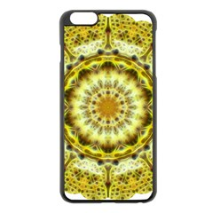 Fractal Flower Apple Iphone 6 Plus/6s Plus Black Enamel Case by Simbadda