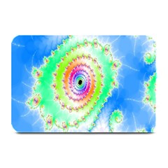 Decorative Fractal Spiral Plate Mats by Simbadda