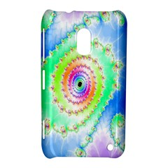 Decorative Fractal Spiral Nokia Lumia 620 by Simbadda