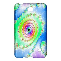 Decorative Fractal Spiral Samsung Galaxy Tab 4 (7 ) Hardshell Case  by Simbadda