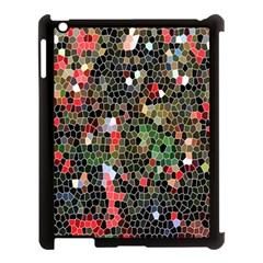 Colorful Abstract Background Apple Ipad 3/4 Case (black) by Simbadda