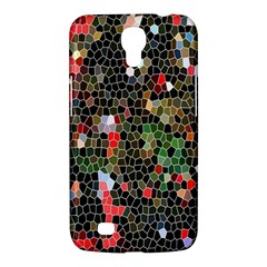 Colorful Abstract Background Samsung Galaxy Mega 6 3  I9200 Hardshell Case by Simbadda