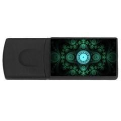 Grand Julian Fractal Usb Flash Drive Rectangular (4 Gb) by Simbadda